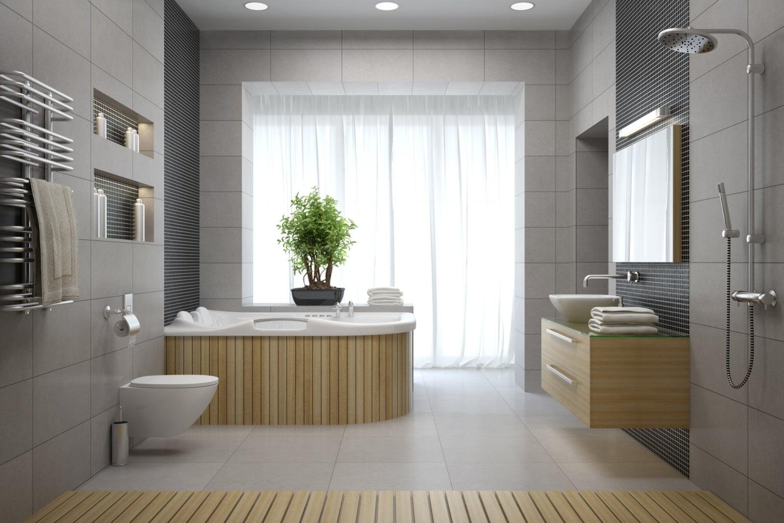 ¿Qué errores cometes al decorar tu baño?