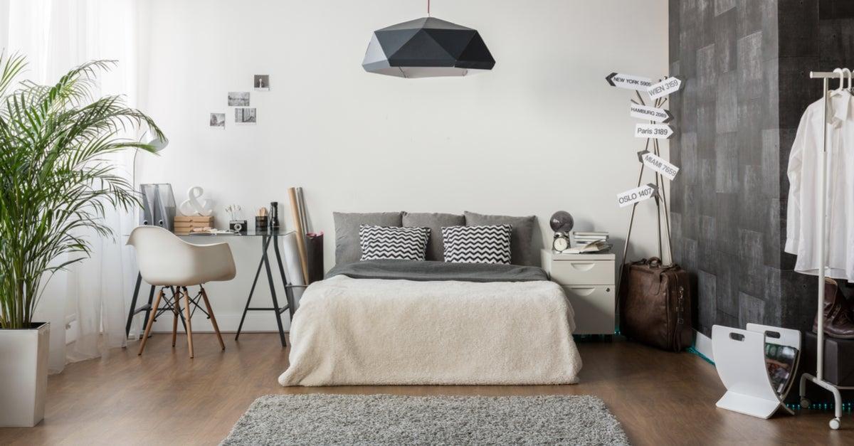 Cómo aprovechar al máximo el espacio en tu dormitorio
