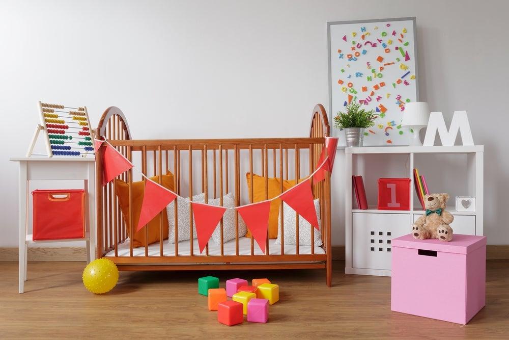 Consejos para decorar la habitación de tu bebé