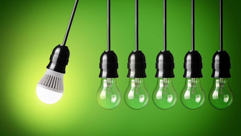 Historia de las bombillas LED.