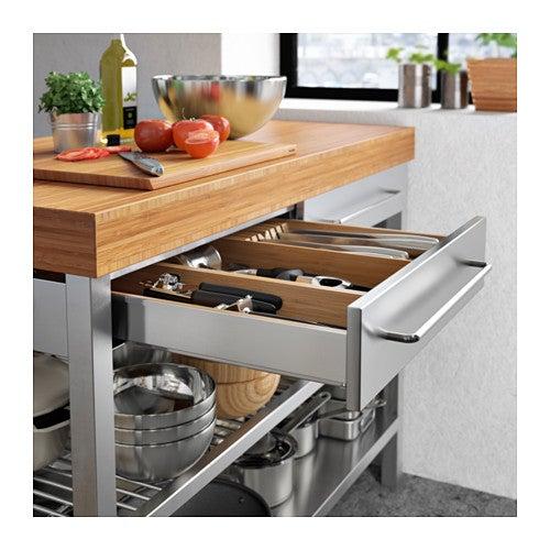 5 islas de cocina de IKEA: características y funcionalidades de cada una