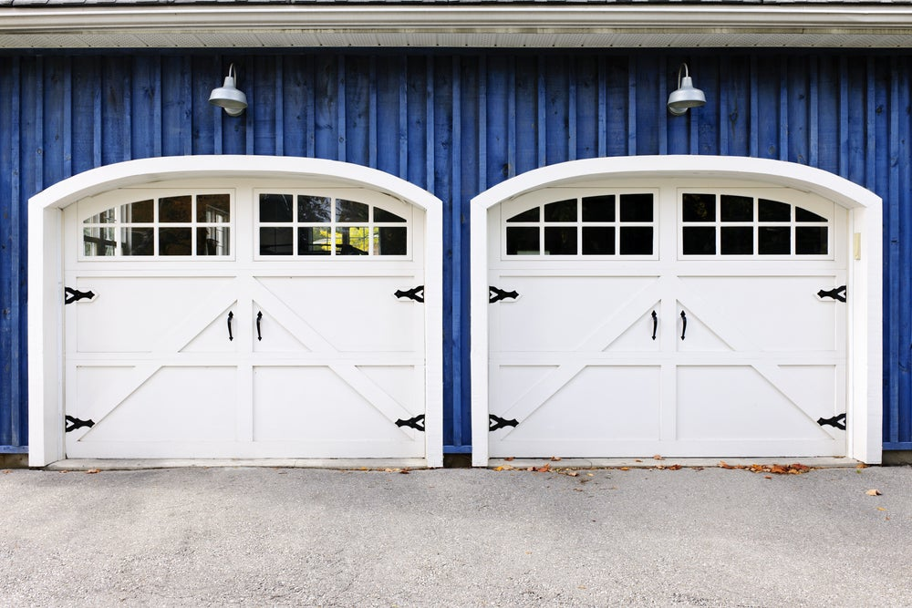 Puertas de garaje modernas.