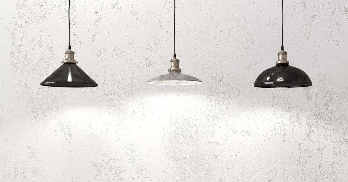Tipos de lámparas.