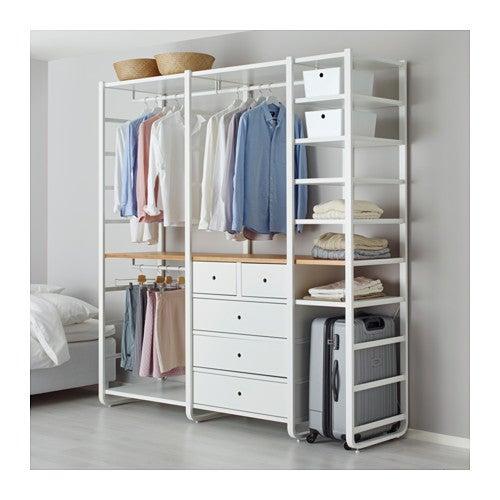 Vestidor ELVARLI de IKEA.