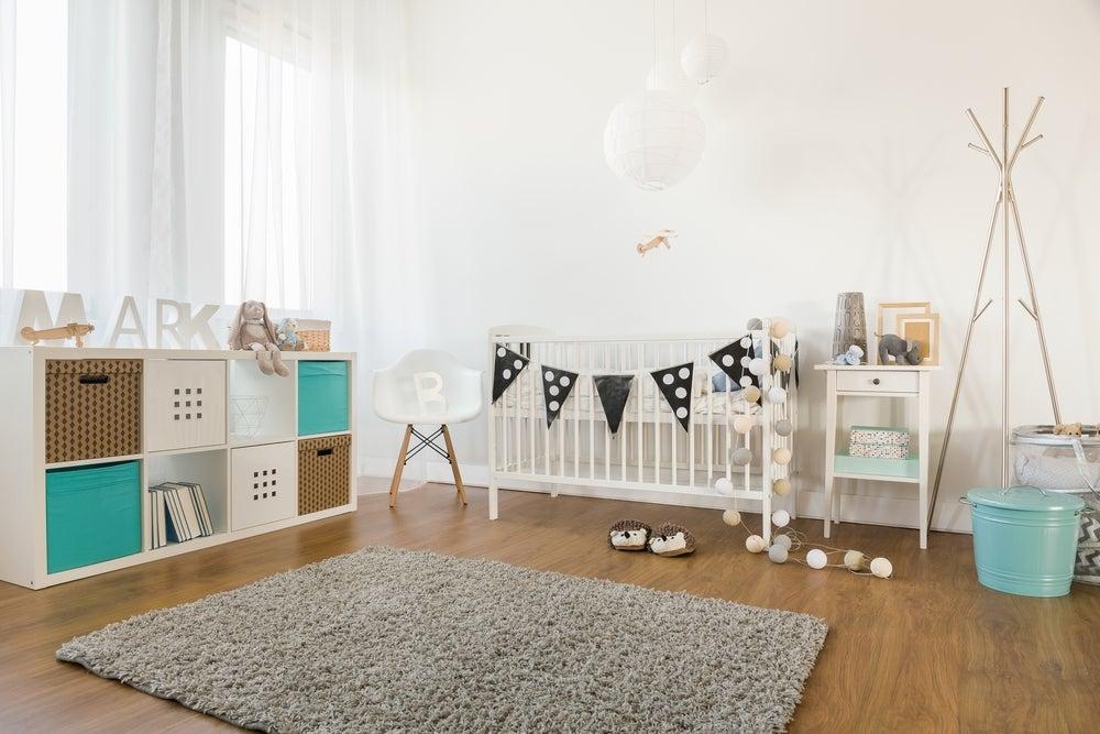 Children's bedroom furniture.