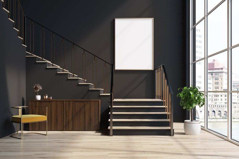 4 consejos para aprovechar el hueco de la escalera mi for Jaula de la escalera de color idea