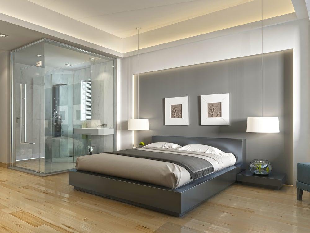 Baño dentro del dormitorio conlleva ruidos.