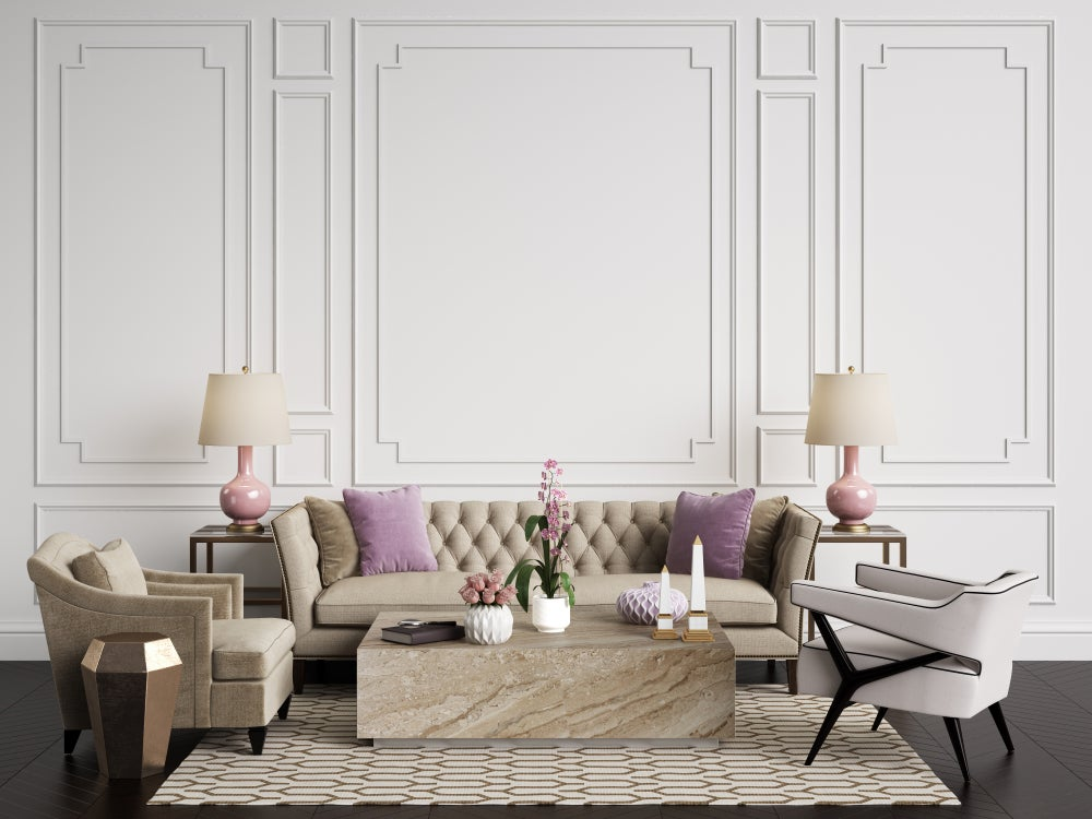 Colores shabby chic.