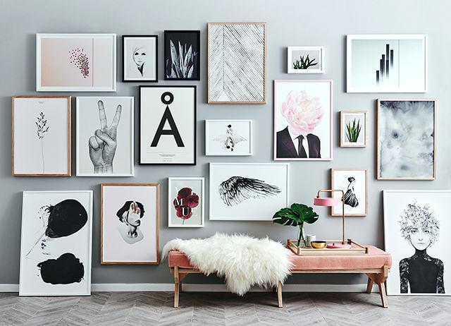 4 tips para decorar dormitorios con marcos
