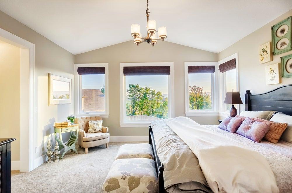 Dormitorio clásico.