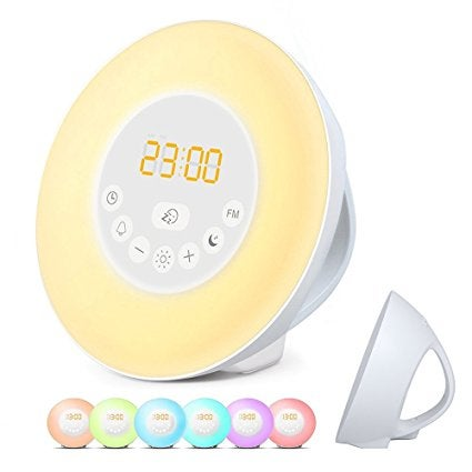 Despertador de luz Apiker.