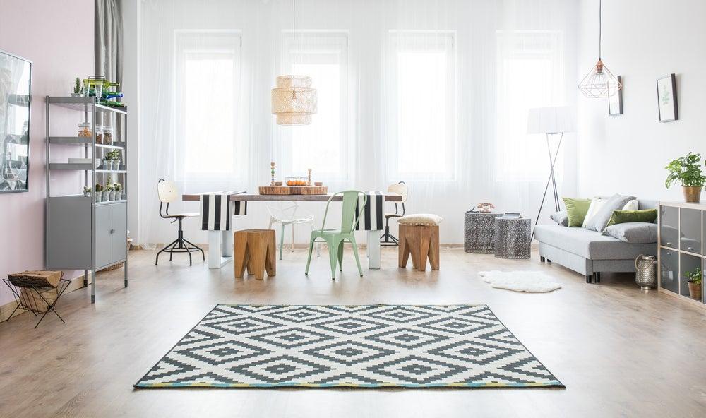 Elegir la alfombra correcta.