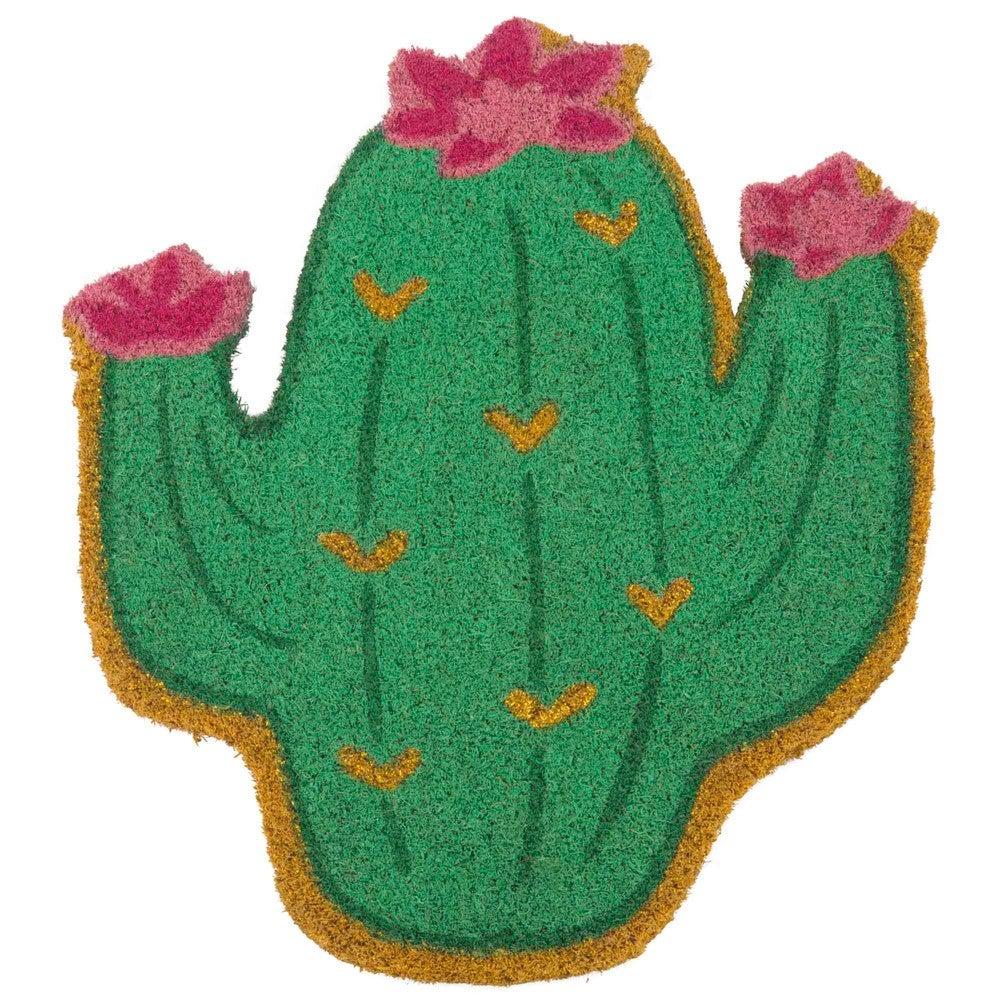 Felpudo con forma de cactus de la tienda Maison du Monde