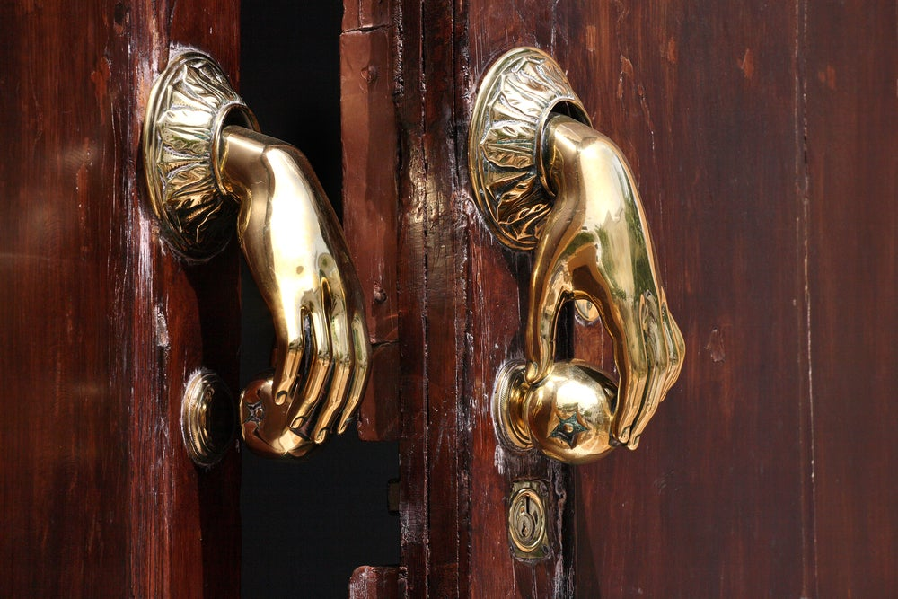 Pomos para puertas.