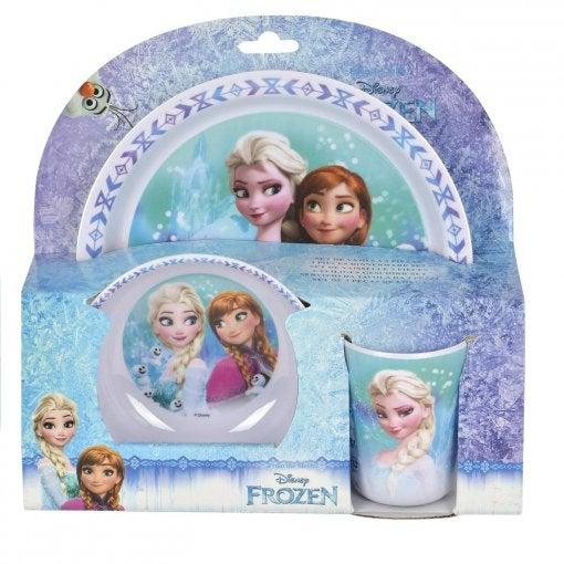 Vajilla Frozen.