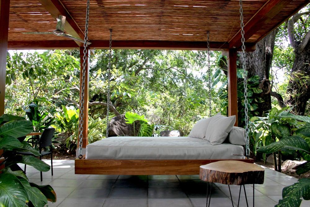 Camas balinesas ideales para tu terraza