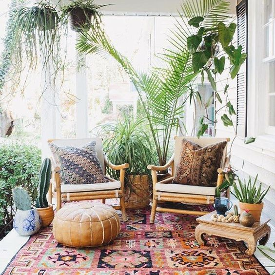 4 ideas para decorar un patio