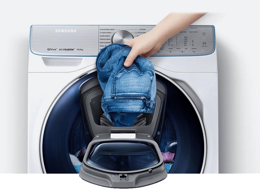 Lavadora Samsung.