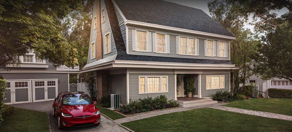 Tejas con textura Tesla.