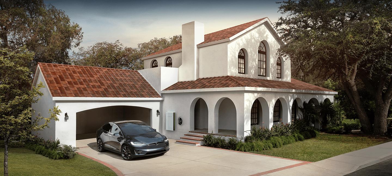 Las tejas solares Tesla aúnan aspecto tradicional y energías renovables