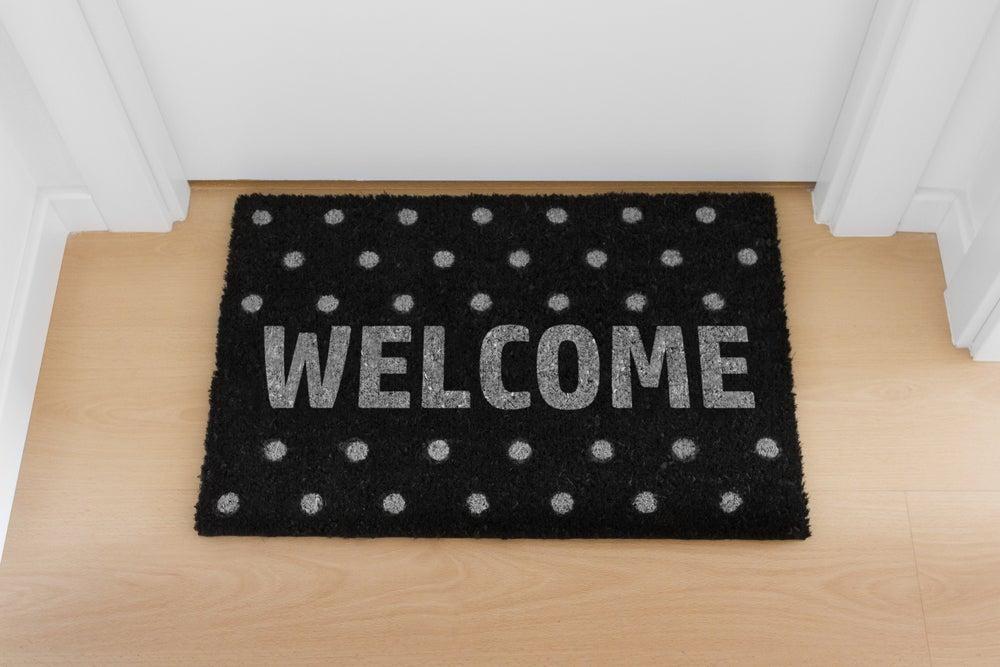 Welcome felpudo.