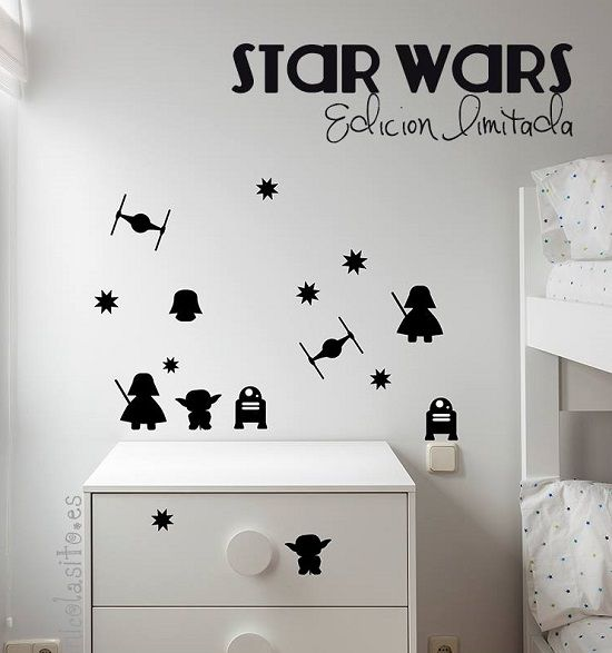 Decoración Star Wars.