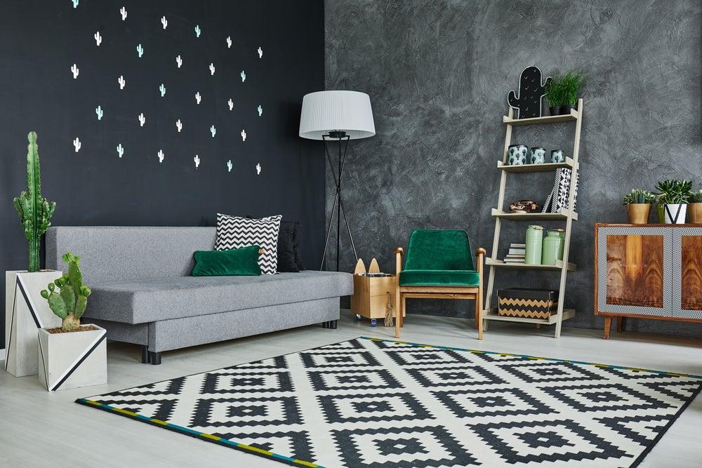 ¿Cuándo se debe usar una decoración con tonos grises?