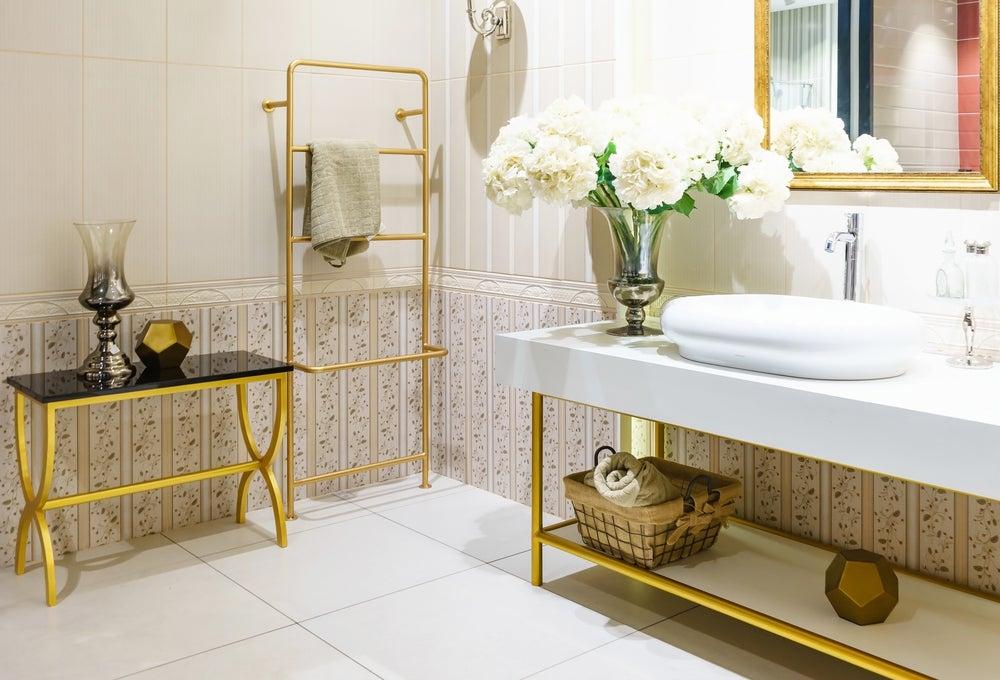 Las mejores pinturas para azulejos de baño que son tendencia