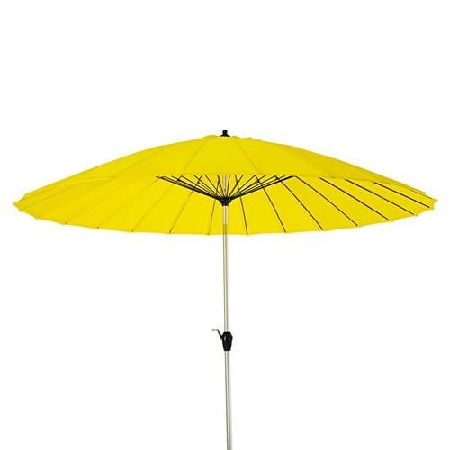 Sombrilla amarilla.