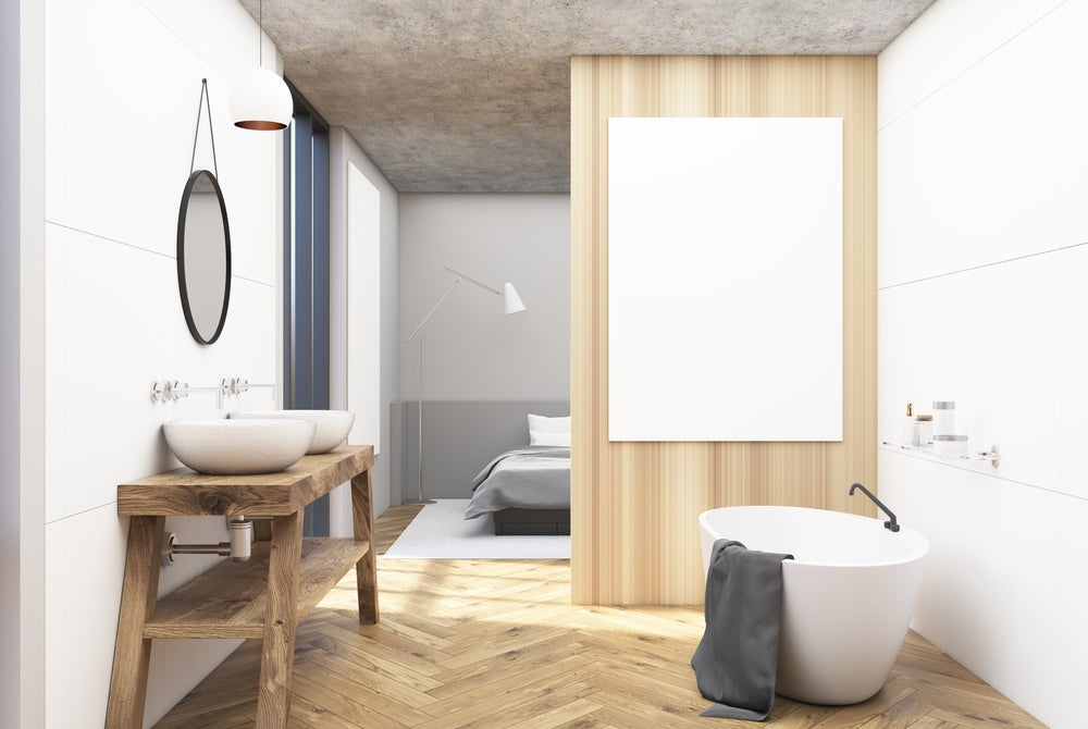 Los mejores suelos de madera para el baño