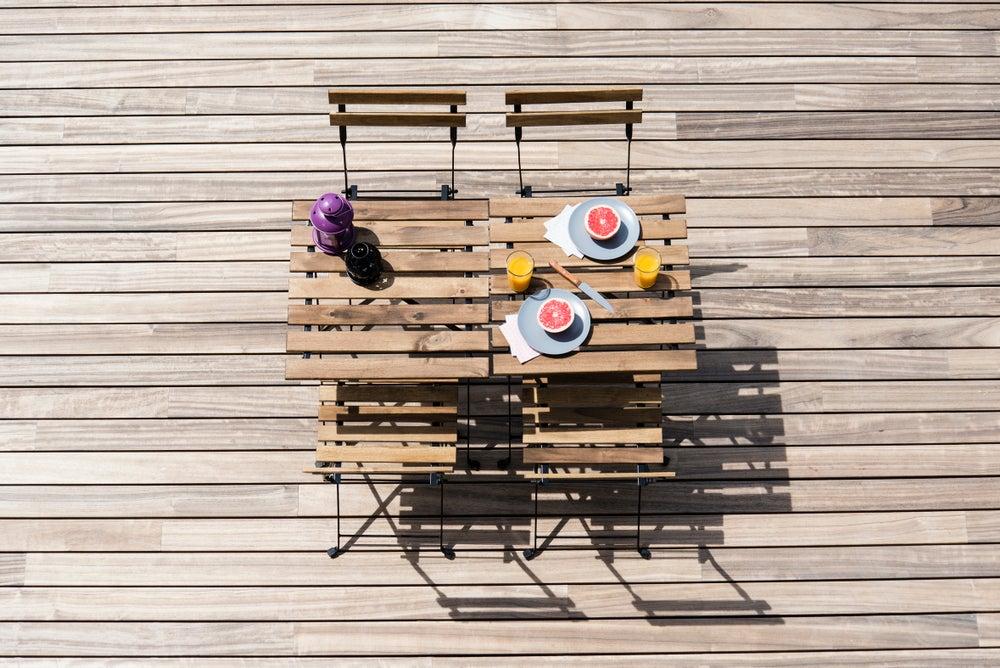 ¿Qué muebles para la terraza no te deberían faltar?