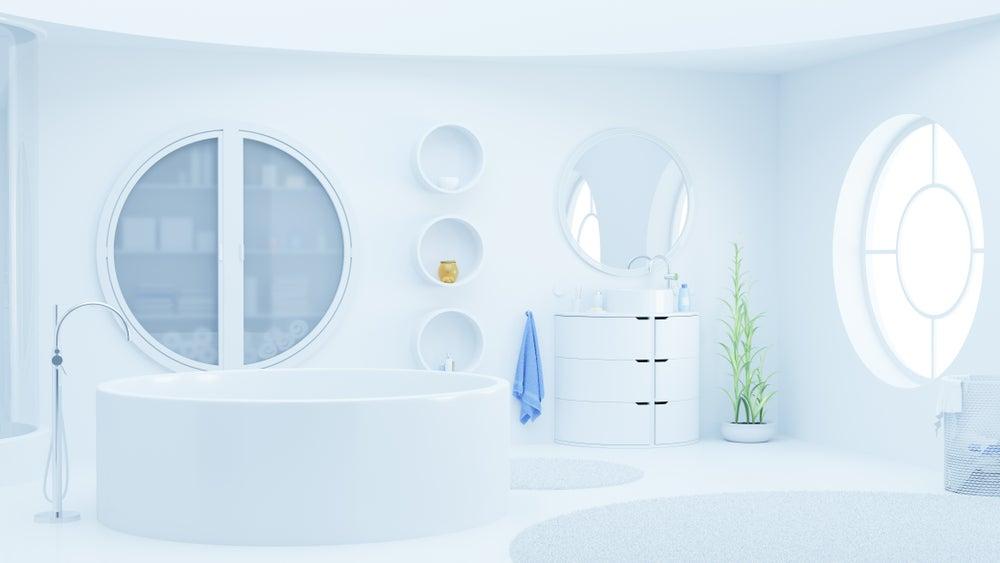 Usa formas circulares que le darán mucho estilo a tus espacios