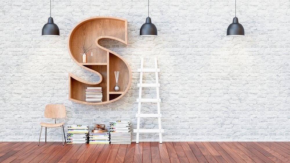Decora tus paredes con letras y números