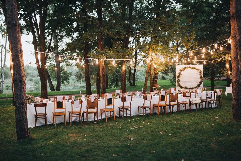 5 consejos para celebrar una boda en el jardín