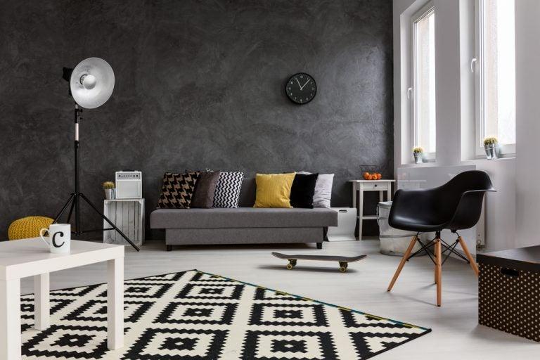 8 consejos para decorar tu apartamento en color negro