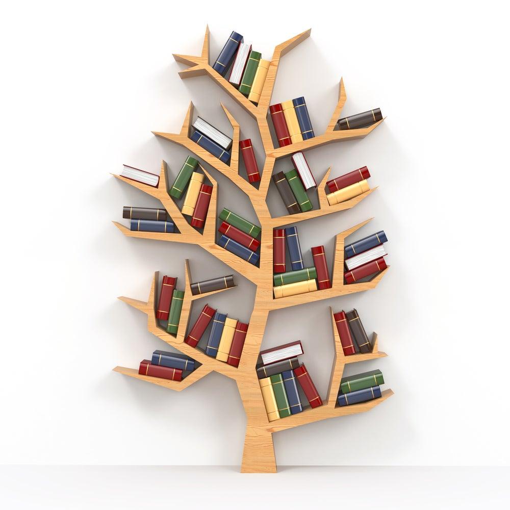 Haz tus propios estantes para libros y revistas con estos sencillos tips