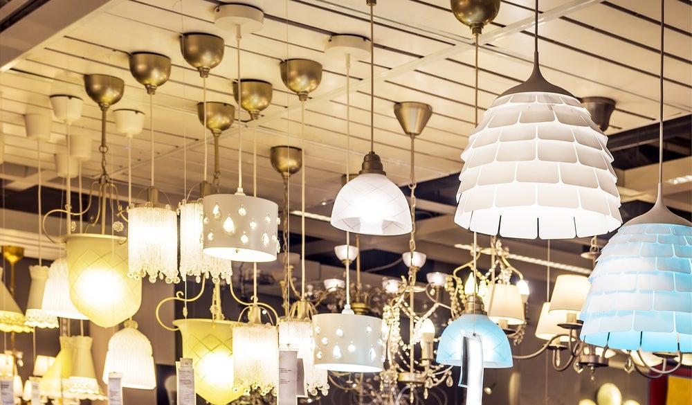 Consejos para elegir lámparas de techo