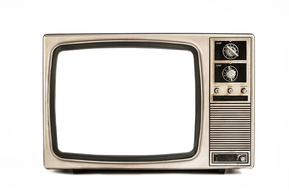 viejo televisor