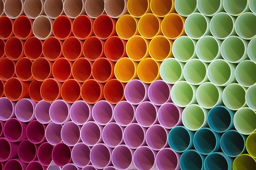 Utiliza los tubos de PVC que ya no usas