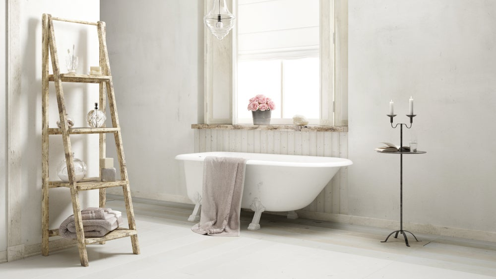 Claves del Shabby Chic, baño