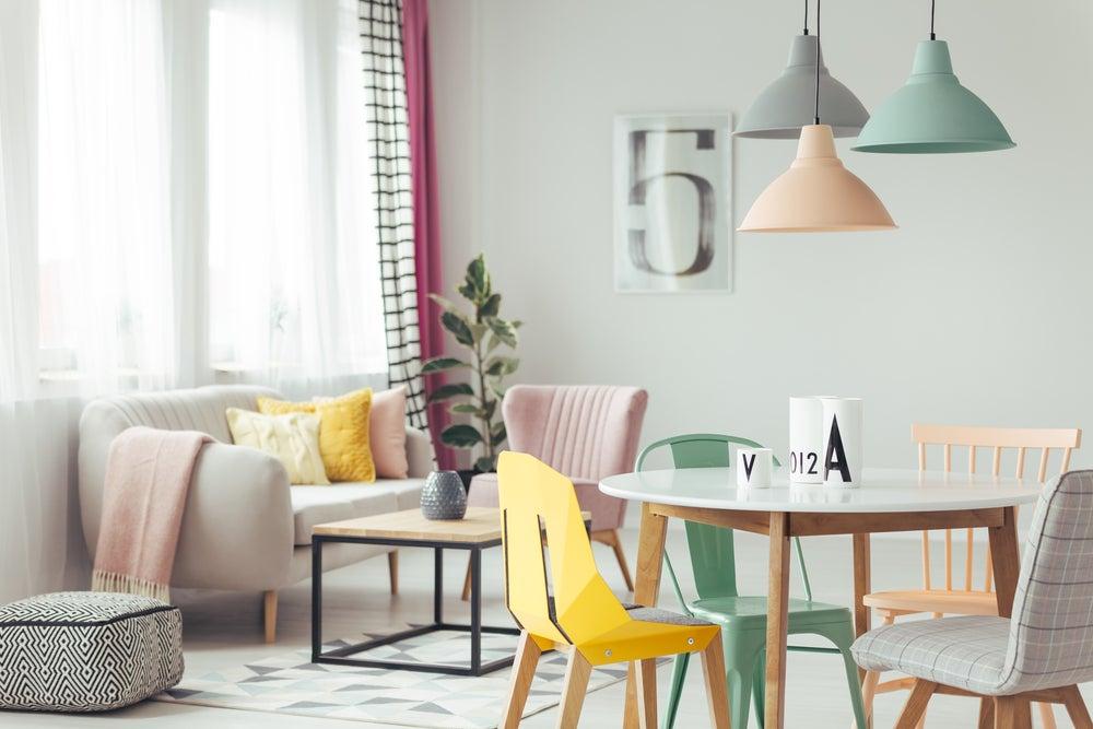 Colores recomendados para darle frescura a tu hogar