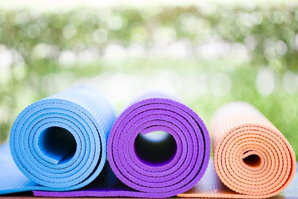 Decorar tu jardín para hacer yoga