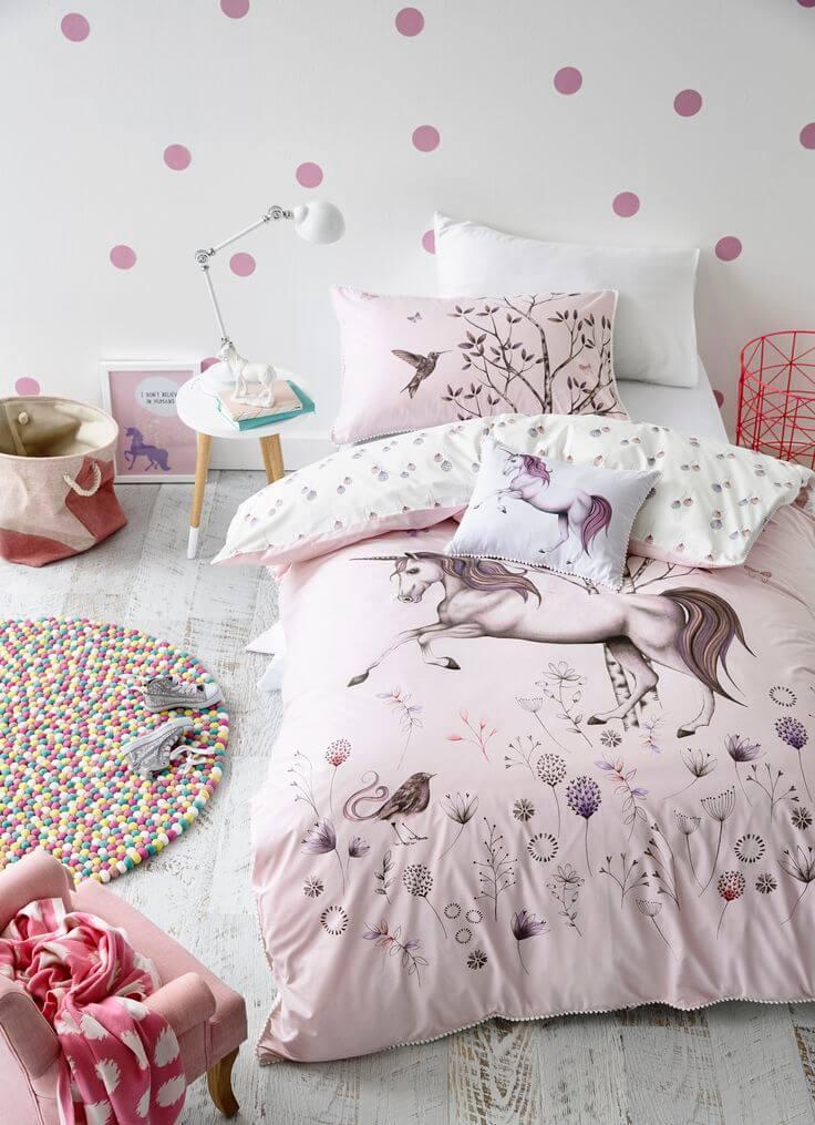 Decorar con unicornios los dormitorios es una tendencia reciente.