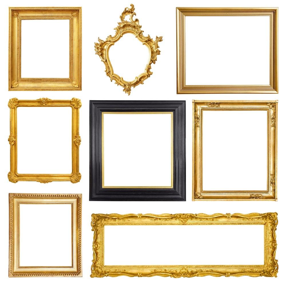 5 sencillos pasos para enmarcar cuadros