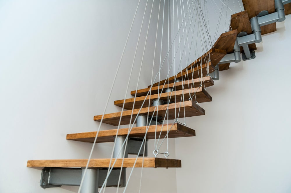 Escaleras flotantes modernas para tu hogar