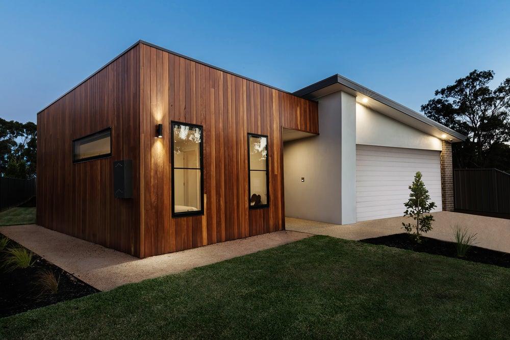 características de fachadas modernas