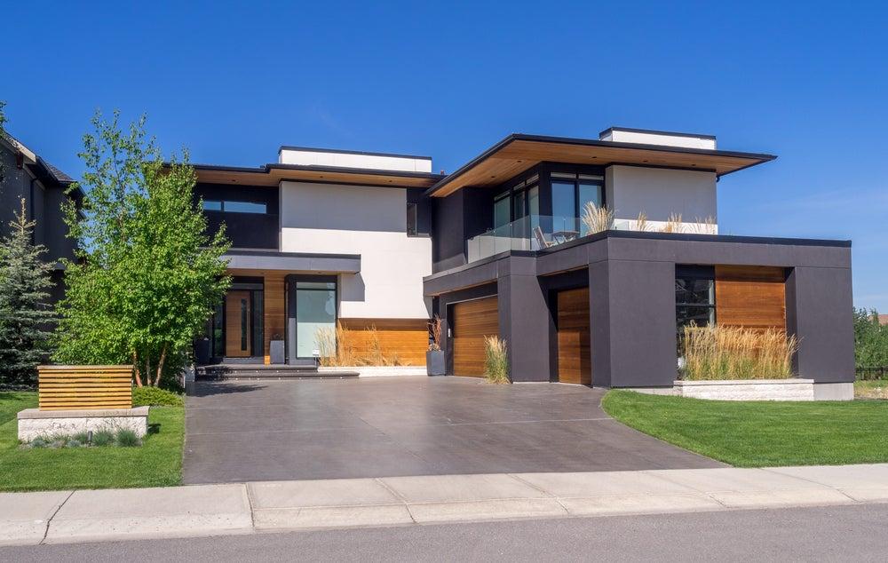 fachadas modernas rectas