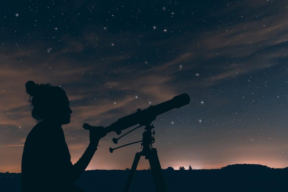 Convierte un espacio del jardín en un observatorio astronómico
