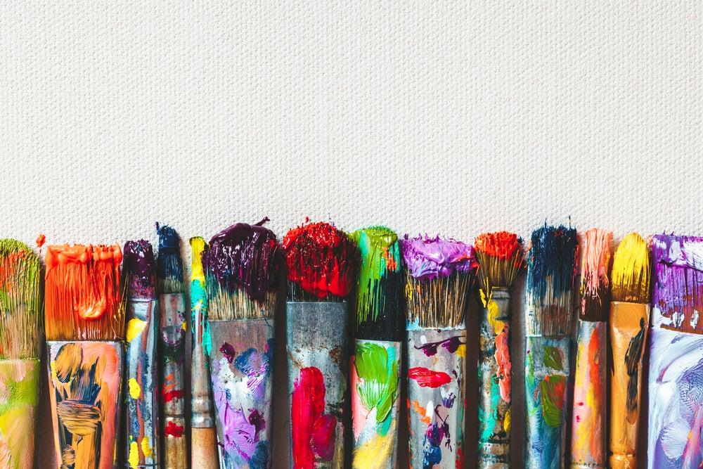 8 tipos de pinceles que debes tener si eres pintor