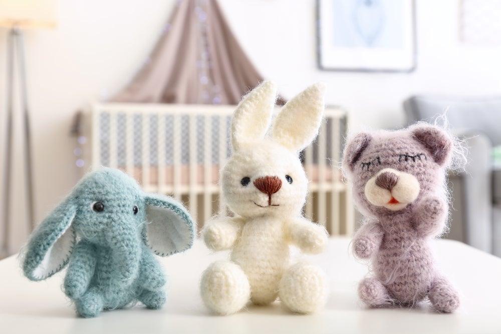 Animales de crochet.
